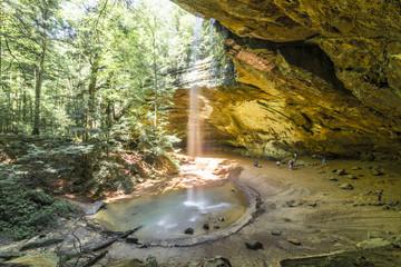 Ash cave, Hocking hills Ohio
