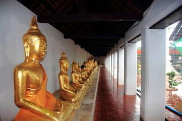 ฺBuddha in the temple for buddhist , statue of buddha
