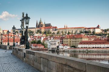 Papiers peints Prague Ansicht Prager Burg