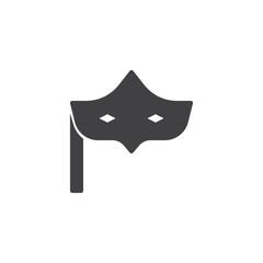 Eye mask vector icon