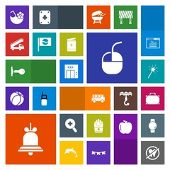 Modern, simple, colorful vector icon set with office, health, bus, door, food, modern, snack, fast, glass, zoom, notification, transport, bag, key, white, drink, alert, leather, alarm, internet icons