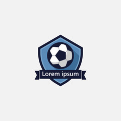 Soccer Logo Vector Template Design Illustration