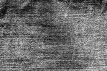 Jeans cloth pattern in black and white.