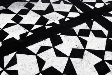 Abstract of asphalt floor background