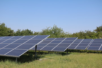 Solar panels renewable energies in Germany