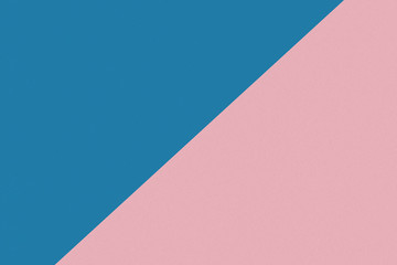 Two color paper with blue and pink of the image. Background