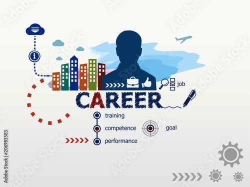 explain the concept of career in A career is a sequence of positions held by a person during the course of a life time it comprises of a series of work related activities that provide continuity, order, and meaning in a person's life this is an objective view of a person's career there is also a subjective element in the concept of career.