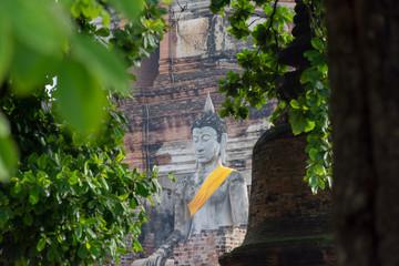 タイ・バンコク・アユタヤ・遺跡・ワット ヤイ チャイ モンコン