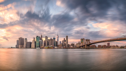 New York City Dusk Skyline