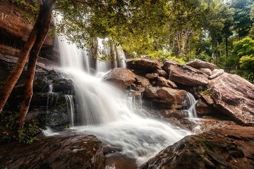 Thailand waterfall in Udonthani province (Koi Nang)