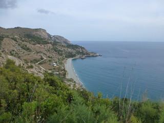Maro, localidad española de Nerja cerca de Frigiliana, en la provincia de Málaga, Andalucía (España)