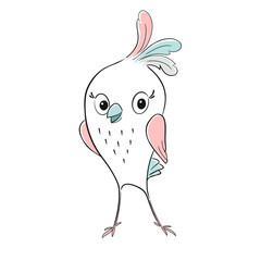Cute bird cool print