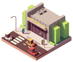 Vector isometric gadgets and computer store