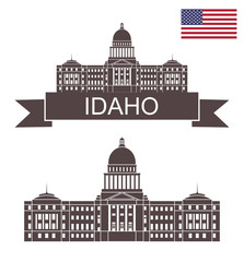 State of idaho. Idaho state capital