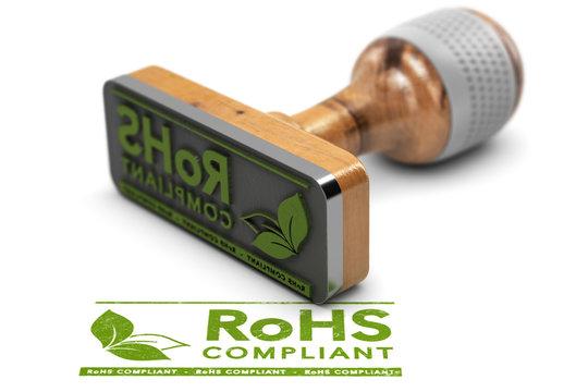RoHS Compliant. Restriction of Hazardous Substances. European Union Directive