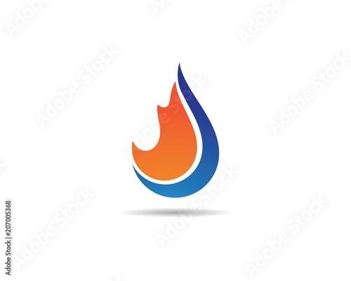 fire flame logo template fotolia com の ストック画像とロイヤリティ