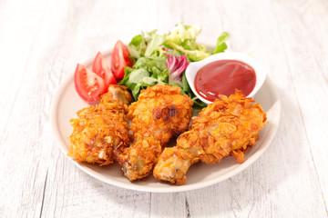 crispy chicken leg