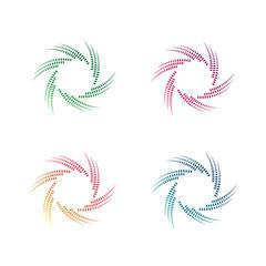 Abstract Logo Template Vector Design