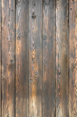 Textured old wooden plank background