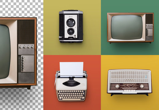 60s Retro Media Set