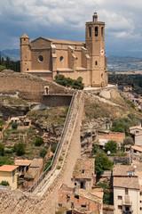 Santa Maria Church and Walls of Balaguer