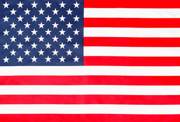 Starry Striped American Flag top view