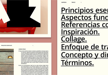 Diseño de presentación interactivo