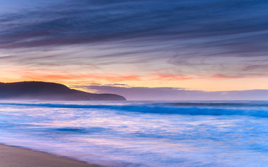 Dawn Seascape and Headland