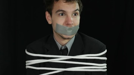 Image result for man tied up interogated