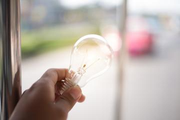 Light Bulb Represent Creativity