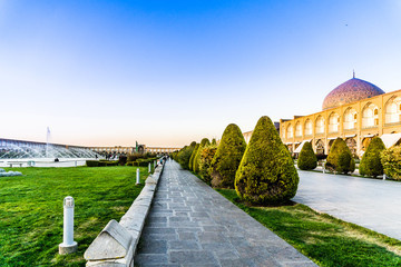 Great Naqsh-e Jahan Square in Isfahan - Iran