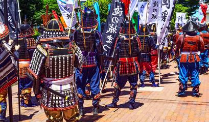 武者行列 samurai