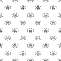 Gmo free pattern vector seamless repeat for any web design