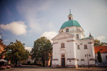 St. Kazimierz Church in Warsaw, Poland
