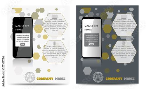 Design a layout template with a mobile app stock image and royalty design a layout template with a mobile app maxwellsz