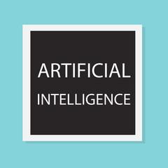 Artificial Intelligence concept- vector illustration