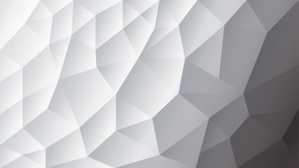 Vector abstract triangulated background | White background | Gray background | Illustrator Design