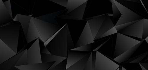 Low-Poly triangular background