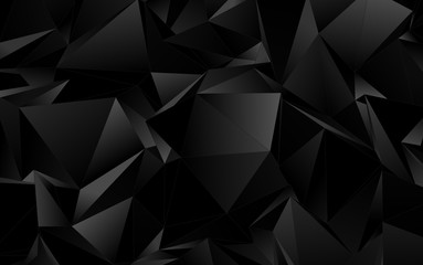 Low-Poly triangular background