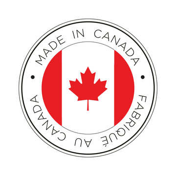 Made in Canada flag icon.