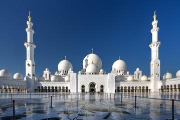 Sheikh Zayed Grand Mosque.. Scheich-Zayid-Moschee..Abu Dhabi