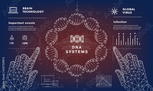 Dna Analysis On Medical Systems Development Future Industry