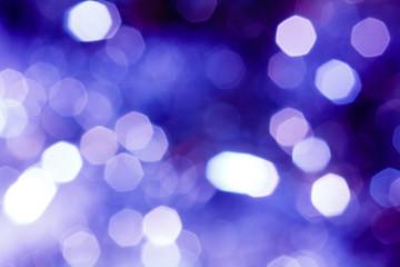 キラキラなボケ背景 白紺蒼紫ピンク