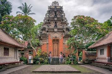 Courtyard of Ubud palace