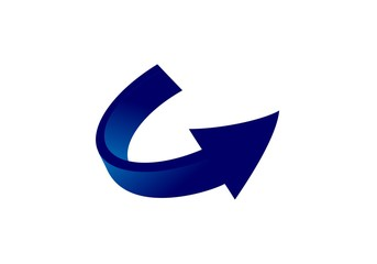 arrow, up logo