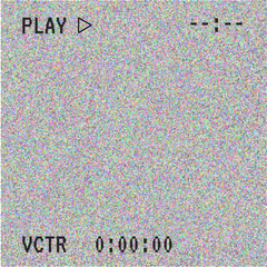 Vector background of new technology. Glitch effect, computer error, system crash. Black and white texture, a symbol of technology. Abstract pixel background. Television signal fail. Data decay.