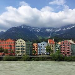 Cityscape, Innsbruck, Tyrol, Austria