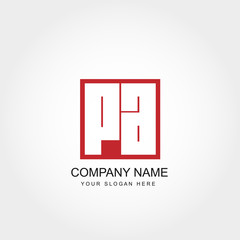 Initial Letter PA Logo Vector Design