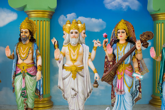 Gods of Hinduism Is worshiped by the Indians.