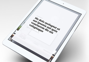 Elegantes eBook-Layout